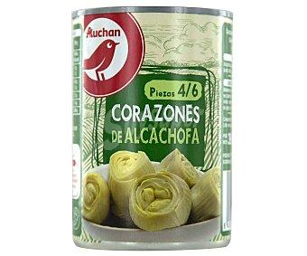 PRODUCTO ALCAMPO Corazones de alcachofa 4/6 piezas 240 g