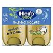 Tarrito de verduras a la crema a partir de 6 meses Pack de 2 uds Hero Baby Buenas Noches