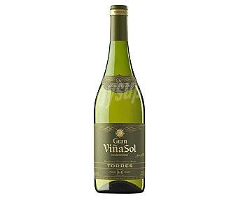 Torres Gran Viña Sol Vino blanco con denominación de origen Penedés botella de 75 cl