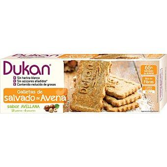 Dieta Dunkan Galletas de salvado de avena sabor avellana Envase 225 g