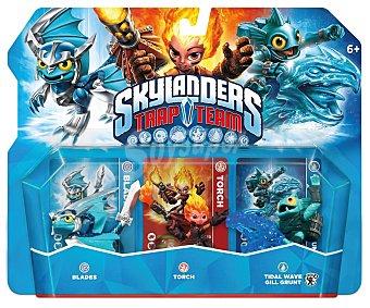 SKYLANDERS Pack de 3 Figuras Trap Team 1 Unidad