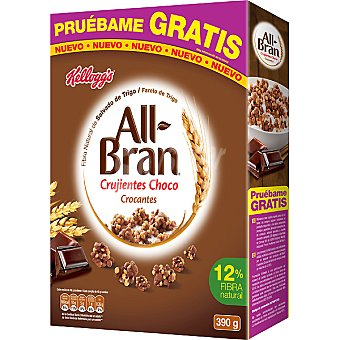 All bran Kellogg's All Bran Crujientes Choco 390 g