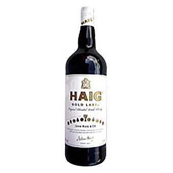 HAIG Blended Scotch Whisky Gold Label Botella de 1 litro