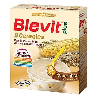 BLEVIT Plus Papilla superfibra 8 cereales Caja 600 g