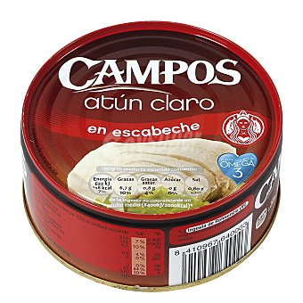 Campos Atún claro en escabeche Lata 190 g