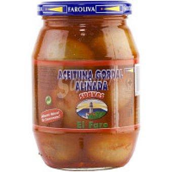El Faro Aceitunas gordal suave Frasco 370 g