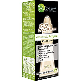 Skin Naturals Garnier Cream Perfeccionador Prodigioso BB contorno de ojos en roll-on con un toque de color claro tubo 7 ml Tubo 7 ml