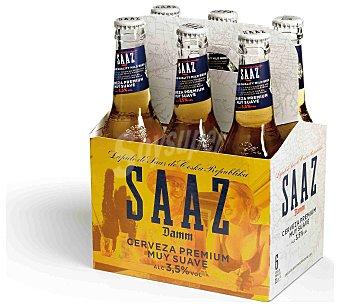 Saaz Cerveza Botella (pack ) 198 cl