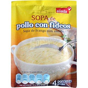 Aliada Sopa de pollo con fideos Sobre 68 g