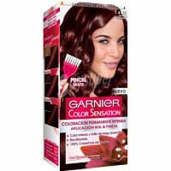 Color Sensation Garnier Tinte chocolate N.4.15. color sensation, caja 1 unid. Caja 1 unid
