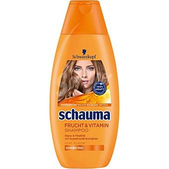 SCHAUMA Champú Frutas y Vitaminas para cabello normal Frasco 400 ml