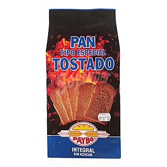 Paybo Pan tost.integral sin sal 250 g