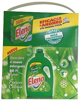Elena Detergente lavadora polvo ropa blanca 35 lavados - paquete 2555 g