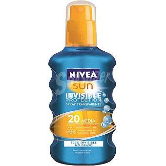 Nivea Sun Protección inmediata FP-20 resistente al agua Sun Solar Invisible Spray 200 ml