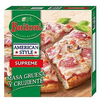 Buitoni Pizza con champiñones supreme American Style Buitoni 420 g