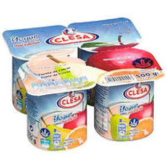 CLESA Yogur macedonia Pack 4