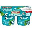 Especialidad vegetal de coco cremoso pack 2 unidades 120 g pack 2 unidades 120 g Andros