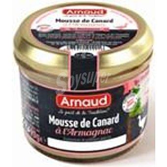 Arnaud Mousse de pato armagnac tarro 90 gr Tarro 90 gr
