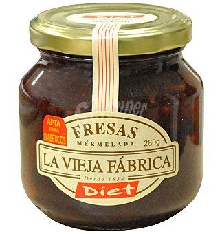 LA VIEJA Mermelada F. diet.fresa 280 G