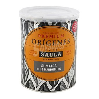 Saula Café molido premium origenes sumatra blue mandhelin saula 250 grs 250 grs