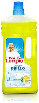 Don Limpio Limpiador multiusos con olor a limón Bote 1.5 l