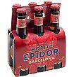 Cerveza quinto 6 unidades x 200 ml Moritz Epidor