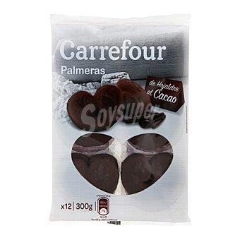 Carrefour Palmeras de hojaldre al cacao 12 ud. 300 g