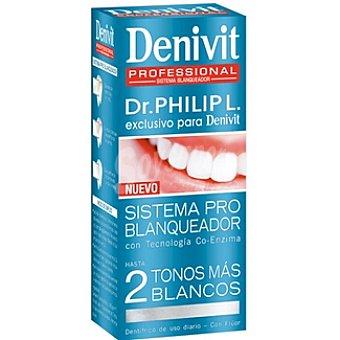 Denivit Pasta dentífrica sistema pro-blanqueador Dr. Philip Tubo 50 ml