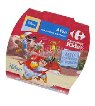 Carrefour Atún con Ketchup y Patatas 160 g