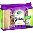 Tostadas ligeras de quinoa bio paquete 125 g Santiveri