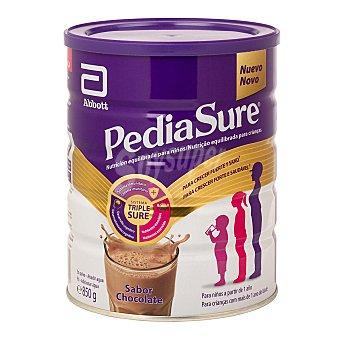 Pediasure Polvo sabor chocolate alimento completo y equilibrado para niños de 1 a 10 años Bote 850 g peso neto