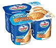 Yogur sabor a galleta Pack 4x125 g Clesa