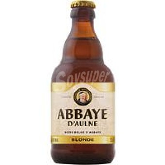ABBAYE D´AULNE BLONDE Cerveza Abadía belga Botellín 33 cl