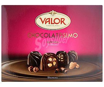 VALOR Surtido de bombones de chocolate caja de 200 gramos