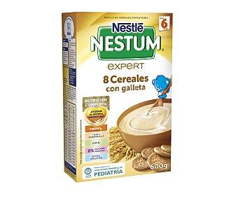 Nestum Nestlé NESTUM 8 cereales con galleta 600 gr