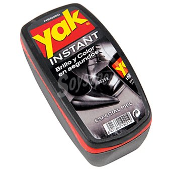 Yak Esponja negra para calzado Pack 1 unid