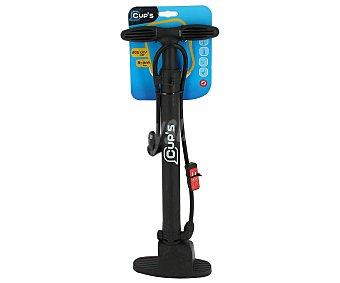 CUP'S ALCAMPO Basic Inflador de pie para ruedas de bicicleta, modelo Basic alcampo