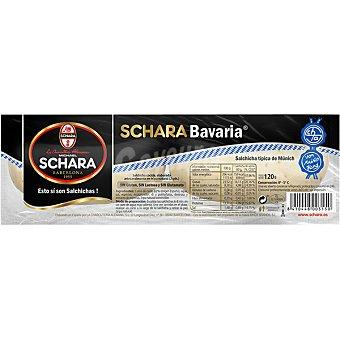 Michael Schara Bavaria salchichas cocidas típicas de Múnich 2 unid sin gluten sin lactosa envase 120 g envase 120 g