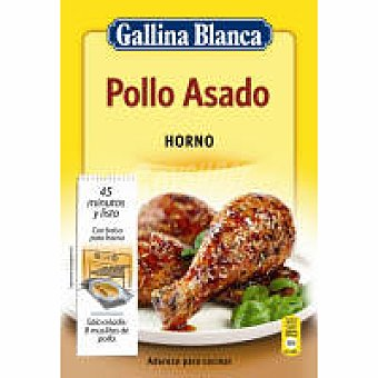 Gallina Blanca Horno de pollo asado Sobre 32 g