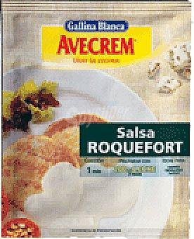 Gallina Blanca SALSA AVECREM ROQUEFORT 27 GRS