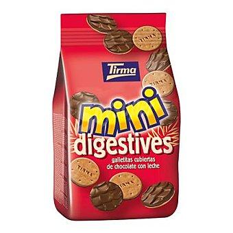 Tirma Mini digestives cubiertas de chocolate con leche 100 g