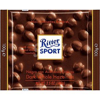Ritter Chocolate negro con avellanas 100 g