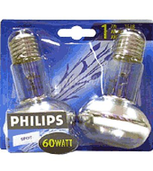 Philips 2 bombillas spot line 60W
