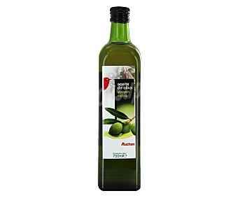 Auchan Aceite de oliva virgen extra Botella de cristal de 750 ml
