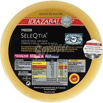Eroski Seleqtia Queso Idiazabal natural mini 1 kg