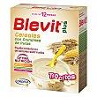 Papilla instantánea de cereales con trocitos de fruta crujiente a partir de 12 meses 600 gramos Blevit