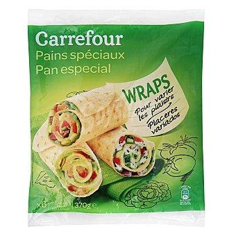 Carrefour Wraps 6 unidades 370 g