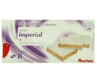 Auchan Turrón duro sin azucares añadidos 200 gramos