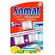 Limpia máquinas para lavavajillas sólido Blíster 3 u Somat
