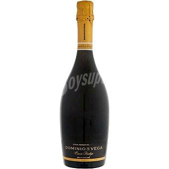 Dominio de la vega Cuvee Prestigie cava nature reserva de Valencia botella 75 cl botella 75 cl